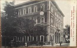 CPA, Carrara,  Palazzo Ing. Zaccagna Sede R. Poste E Telegrafi E Cassa Di Risparmio, Non écrite - Carrara