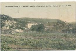 PRIVAS - La Barèze - Dans Le Fond Le Bois Laville - Privas