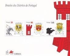 Portugal Hb 132 Y 133 - Hojas Bloque