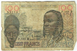 Banque Centrale Etats Afrique De L'Ouest. 100 (Cent) Francs. 20-3-1961 - États D'Afrique De L'Ouest