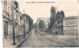 44 NANTES LE BAS DE LA RUE  DE GIGANT     TBE  LA446 - Nantes