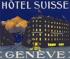 @@@ MAGNET - Hotel Suisse Geneva Geneve Switzerland - Publicitaires