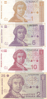 Billets Croatie P16, 18, 19, 20, 22, 23 Neuf 17,sup - Croatia