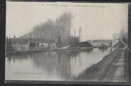 Cpa 4520016 Dordives Le Pont Sur Le Canal Du Loing , Péniche - Dordives