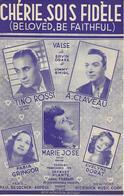 Chérie, Sois Fidèle - Tino Rossi - André Claveau - Marie Jose... (p: Jacques Plante - M:  Jimmy Shirl), 1950 - Música & Instrumentos