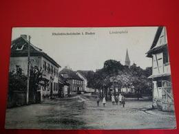 RHEINBISCHOFSHEIM I.BADEN LINDENPLATZ - Germany