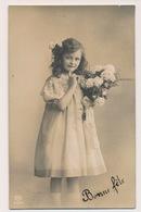 CARTE PHOTO -  BELLE FILLETTE - MOOI MEISJE - Bambini