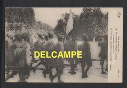 DD / GUERRE 1914-18 / NOS ALLIÉS : INDE / 1914 INFANTERIE INDIENNE ARBORANT LE DRAPEAU TRICOLORE - Guerre 1914-18