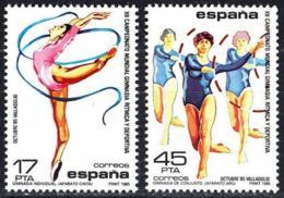 España. Spain. 1985. Campeonato Mundial De Gimnasia Ritmica - 1931-Aujourd'hui: II. République - ....Juan Carlos I