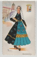 Espagne - Salamanca - Carte Brodée Elsi Gumier - Other