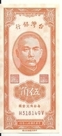 CHINE (TAIWAN) 50 CENTS 1949 UNC (legere Taches D'humidite) P 1949 - Chine
