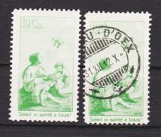 Schweiz Pro Juventute  Mi. II  Vorläufer Postfrisch Und Gestempelt - Svizzera