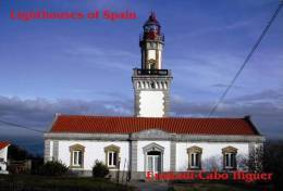 Lighouses Of Spain - Euskadi/Cabo Higuer Postcard Collector - Lighthouses