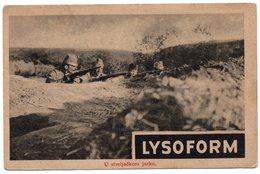 1920s YUGOSLAVIA, CROATIA, LYSOFORM, DISINFECTANT, ADVERTISEMENT - Advertising