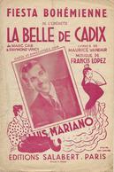 Fiesta Bohémienne - Luis Mariano (p: Maurice Vandair - M: Francis Lopez), 1946 (illustration:Sara Ginst) - Música & Instrumentos