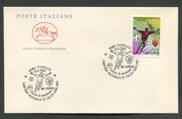 FDC ITALIA 2001 - CAVALLINO - ROMA CAMPIONE NAZIONALE DI CALCIO 2000/2001 - 471 - F.D.C.