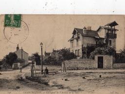 CHARTRETTES CARREFOUR DE L'AVENUE DE LA GARE - Autres Communes