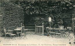 Cpa 92 Restaurant De La Pelouse 37 Rue Chauveau Neuilly/Seine écrite - Neuilly Sur Seine