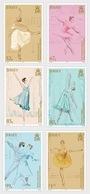 Jersey 2019 - Dame Margot Fonteyn - 100th Birth Anniversary Stamp Set Mnh - Jersey
