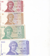 Billets Croatie P16, 20 Sup, 22 Neuf - Croatia