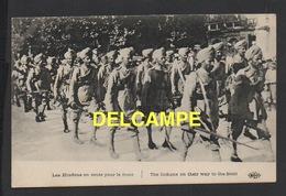 DD / GUERRE 1914-18 / NOS ALLIÉS : INDE / LES HINDOUS EN ROUTE POUR LE FRONT - War 1914-18