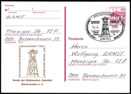 Germany Bremerhaven 1990 / Lighthouse / Nordsee Posta / Philatelic Exhibition - Lighthouses