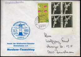 Germany Bremerhaven 1984 / Lighthouse - Lighthouses
