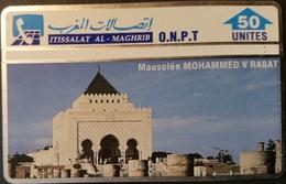 Telefonkarte Marokko - L&G - Mausolee Mohammed V - Rabat - 310A - Maroc