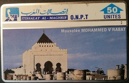 Telefonkarte Marokko - L&G - Mausolee Mohammed V - Rabat - 306A - Maroc