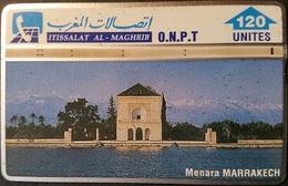 Telefonkarte Marokko - L&G - Menara Marrakech - 204K - Maroc