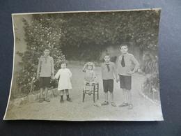 2.3) GENOVA QUINTO 1922 GRUPPO DI BAMBINI AL RETRO I NOMI - Persone Identificate