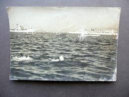 Fotografia Taranto Mar Piccolo Partenza Campionato Miglio Marino GIL Anni '30 - Foto