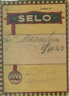 """""""SELO, LA PELLICOLA """" VECCHIA CUSTODIA CON 5 NEGATIVI ,CON PUBBLICITA'-TIMBRO RICCARDO AVRONE-BOLOGNA, - Materiale & Accessori"""