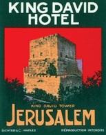 @@@ MAGNET - King David Hotel Jerusalem - Advertising