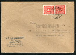 All.Besetzung / 1946 / Mi. 917 MeF Ortsbrief Berlin (13074) - Gemeinschaftsausgaben