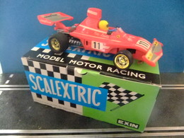 Scalextric Ferrari B 3 F1 Ref. 4052 Made In Spain Avec Boite - Circuitos Automóviles