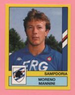 Figurina Panini 1988-89 - Sampdoria - Moreno Mannini - Trading Cards