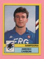 Figurina Panini 1988-89 - Sampdoria - Amedeo Carboni - Trading Cards