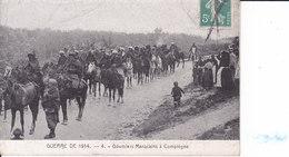 Guerre De 1914 - Goumiers Marocains à Compiègne - Guerra 1914-18