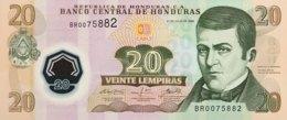 Honduras 20 Lempiras, P-95 (31.7.2008) - UNC - Honduras