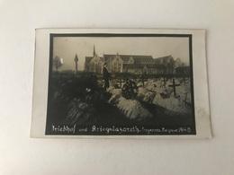 Froyennes  Tournai   Friedhof Und Kriegslazareth  1914-15    PREMIERE GUERRE MONDIALE  LAZARETT - Tournai