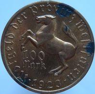Germany Westfalen 100 Mark 1923 UNC Scarce - [ 3] 1918-1933 : Weimar Republic