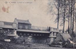 Wanze Le Pont Sur La Méhaigne Ed. S.B.P. Circulée En 1911 - Wanze
