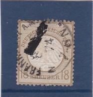 ALLEMAGNE EMPIRE N° 11 ,,tres Tres Forte Cote ,,(petit Aminci En Haut),((prix Completement Cassé)) - Oblitérés