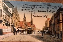 Cpa, Újvidék (Novy Sad), SERBIE, Kossuth Lajos-utca, Lajos-Grass, écrite Le 16 Mars 1919 - Serbia