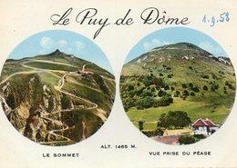 Le Puy De Dôme - Le Sommet & Vue Prise Du Péage - France