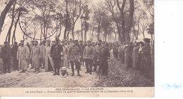 Ile D'Oléron - Le Chateau - Prisonniers De Guerre Allemands Sortant De La Citadelle 1914-1915 - Ile D'Oléron