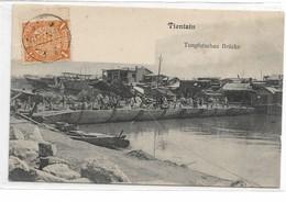 CARD CINA  TIENTSIN  PONTE TUNGFUTSCHAU    -FP-V-2-0882-28966 - Chine