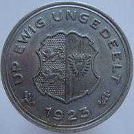 Germany Schleswig-Holstein 1/10 Gutschriftsmarke 1923 XF - [ 3] 1918-1933 : Weimar Republic