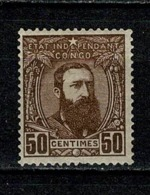 Belg. Congo/Congo Belge 1887 OBP/COB 9* MH (2 Scans) - 1884-1894 Précurseurs & Leopold II